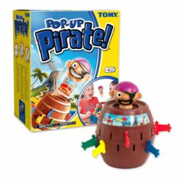 006-60607028 Pop-Up-Pirate Spiel