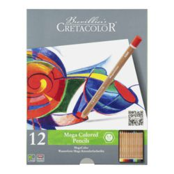 015-29012 Cretacolor MEGA Colored 12er