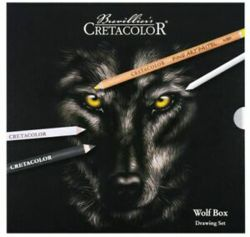 021-914002602 Cretacolor Wof Box Drawing Set
