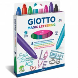 025-F426500 Giotto Magic Lettering 10er