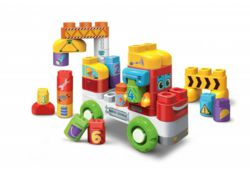 038-80604804004 Vtech Bla Bla Blocks Lastwagen
